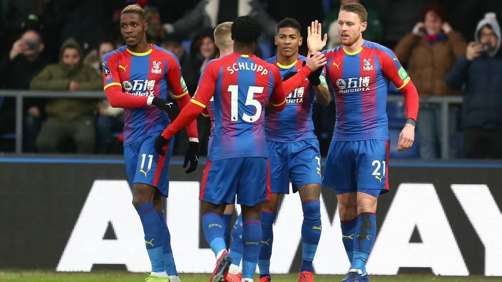 Crystal Palace vs Tottenham 2-0, FA Cup,