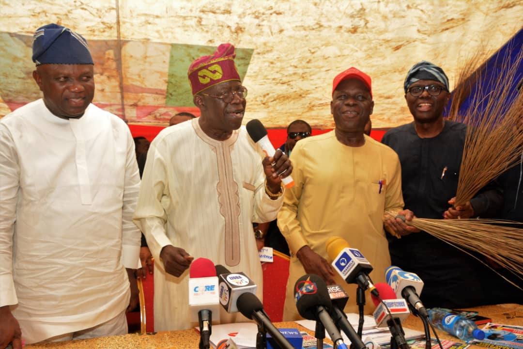 Iyaloja of Lagos, Sanwo-olu, Obafemi Hazat, Ambode, #LagosDecides