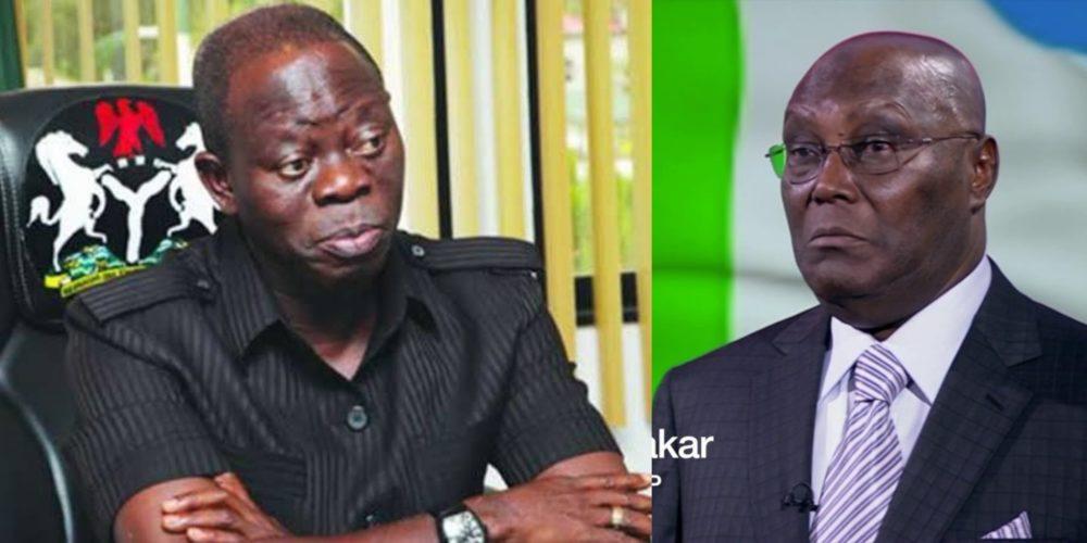 Adams Oshiomhole, Atiku Abubakar, APC, PDP,