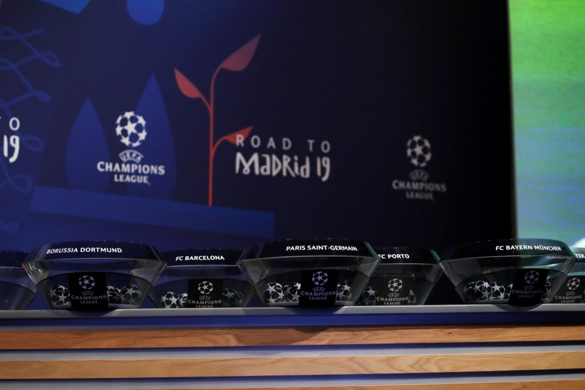 champions league draw, UCL, Manchester United, Barcelona,