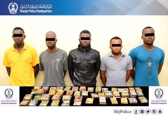 Nigerians, UAE Police,