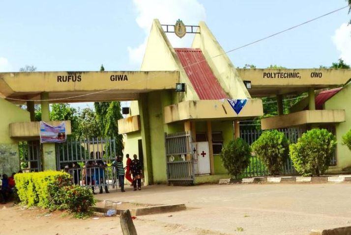 EFCC, Rufus Giwa Polytechnic
