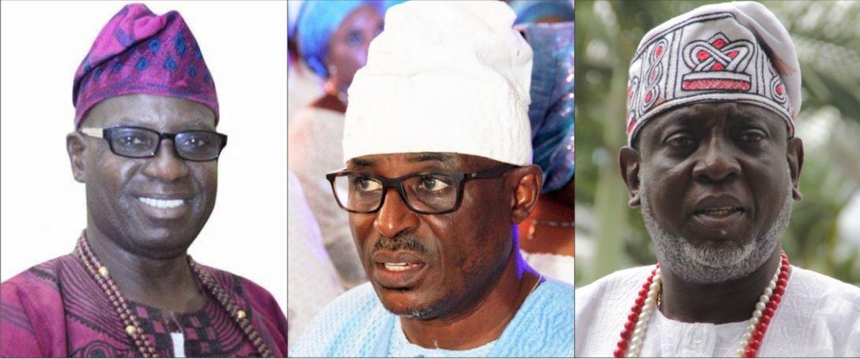 Heads Of IJEBU Age-Grade Groups, Regberegbe