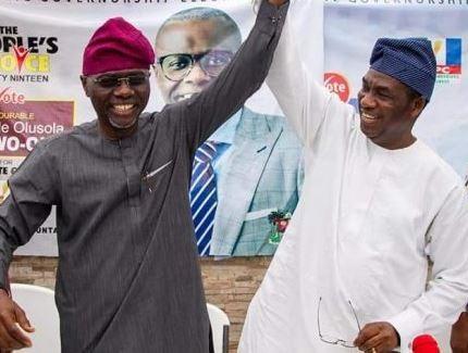Mr Babajide Sanwo-Olu, Dr-Obafemi-Hamzat