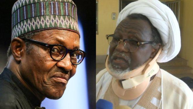 Sheik Ibrahim El-zakzaky, Buhari, Kaduna State Govt.,