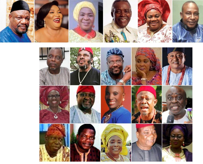 Nollywood, City People Movie Awards, Veteran movies stars,