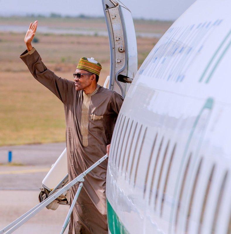 AU Summit, President Buhari, Equatorial Guinea, Airport,
