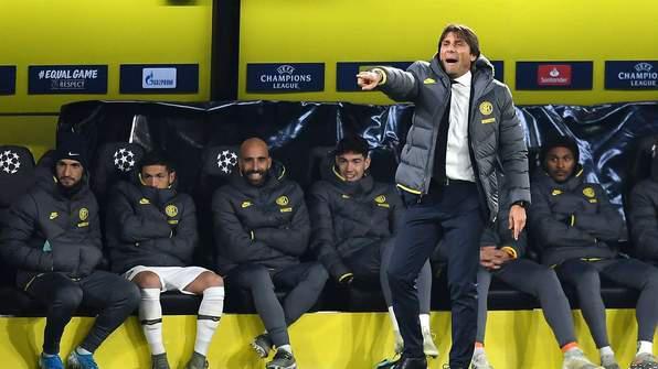 Antonio Conte, Inter Milan, UCL,
