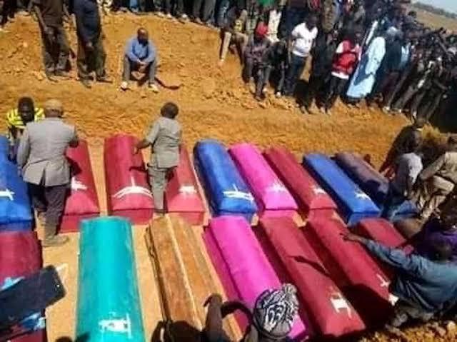 Plateau Killings, mass burial,