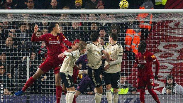 Van Dijk, Liverpool, Manchester United,