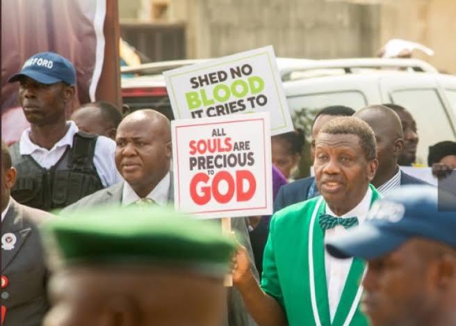 Adeboye, CAN, Protest, Miyetti Allah
