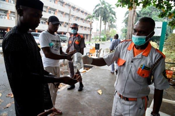 Face Masks, Hand Sanitisers, Coronavirus, Lagos,