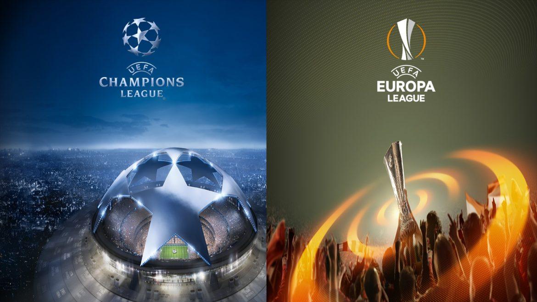 UCL, UEL, UEFA, Champions League, Europa League