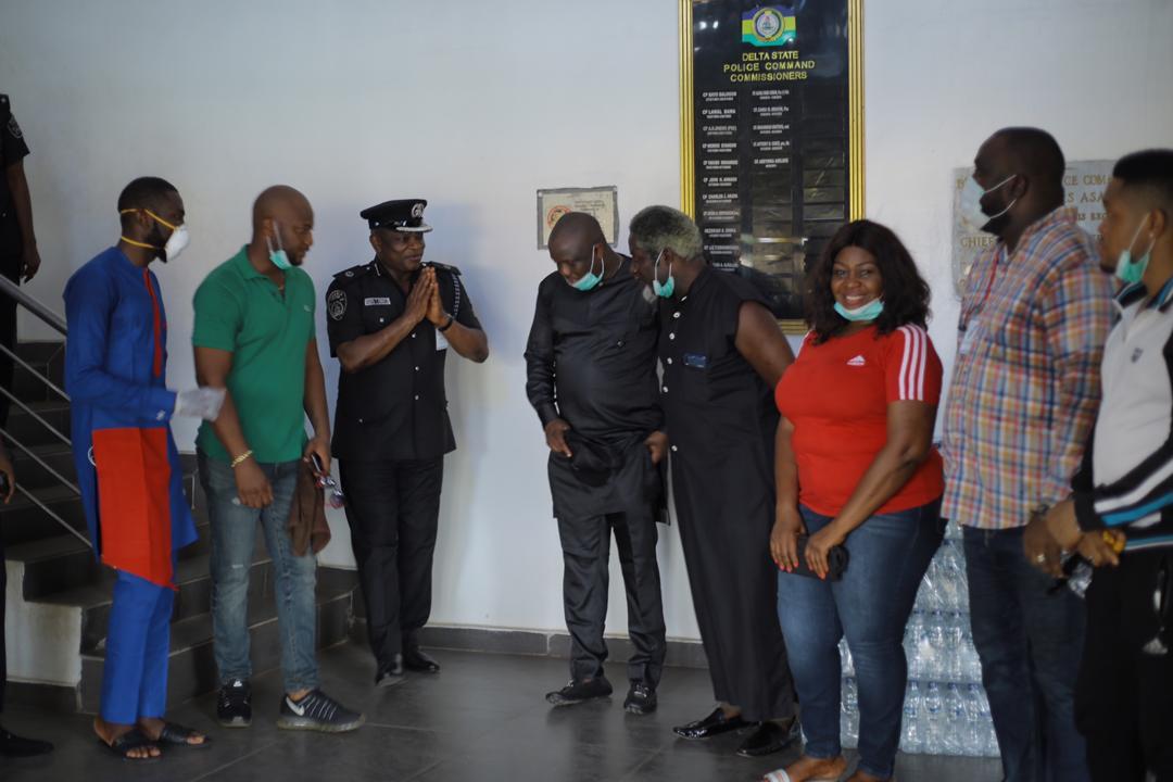 Dave Ogbeni, Nigerian Police, Coronavirus, Delta State,