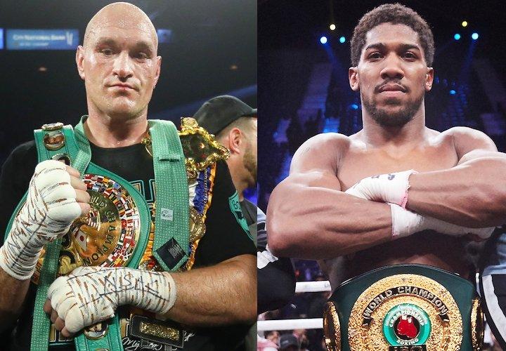 Tyson Fury, Anthony Joshua, WBC,