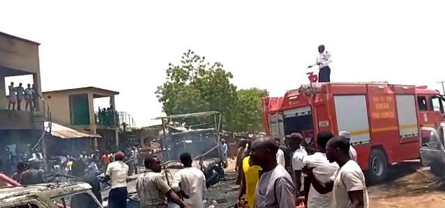 Bauchi Market, Fire,