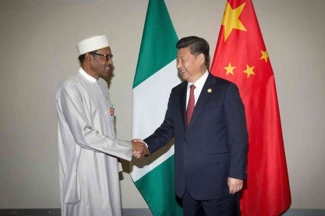 nigeria, china,