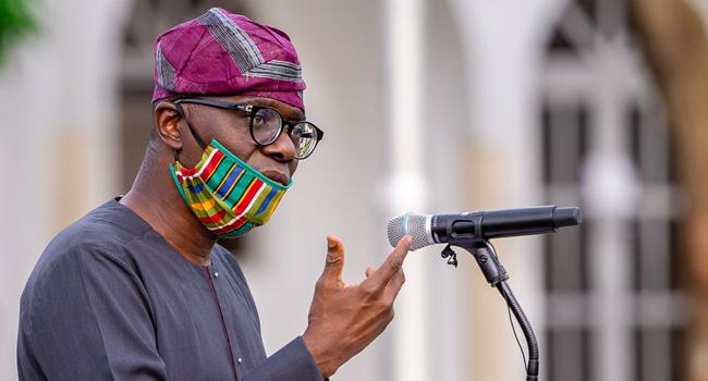 Babajide Sanwo-Olu, COVID-19,