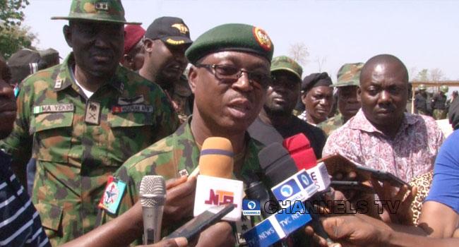 Onyema Nwachukwu, Defence Headquarters, Benue,